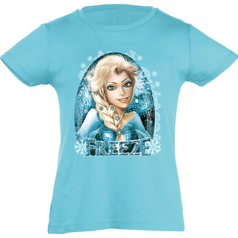 Camiseta manga corta niña - Freeze.