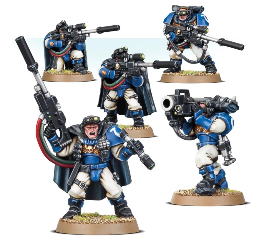 Space Marine: Scouts with Sniper Rifles