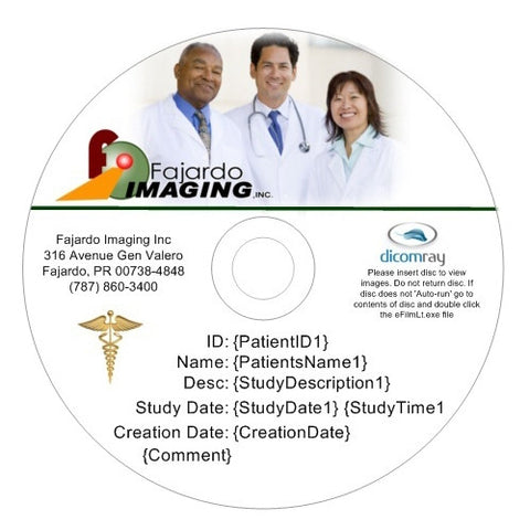 Custom Medical CDs