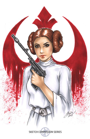 Princess Leia: Rebel Crest