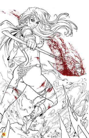 Red Sonja: Line Art