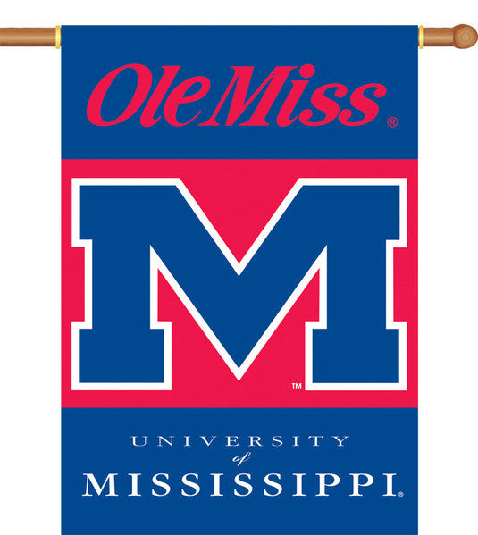 Mississippi Ole Miss Rebels Banner