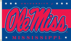 Mississippi Ole Miss Rebels Flag