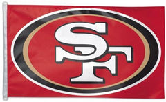 San Francisco Forty Niners 49ers Flag