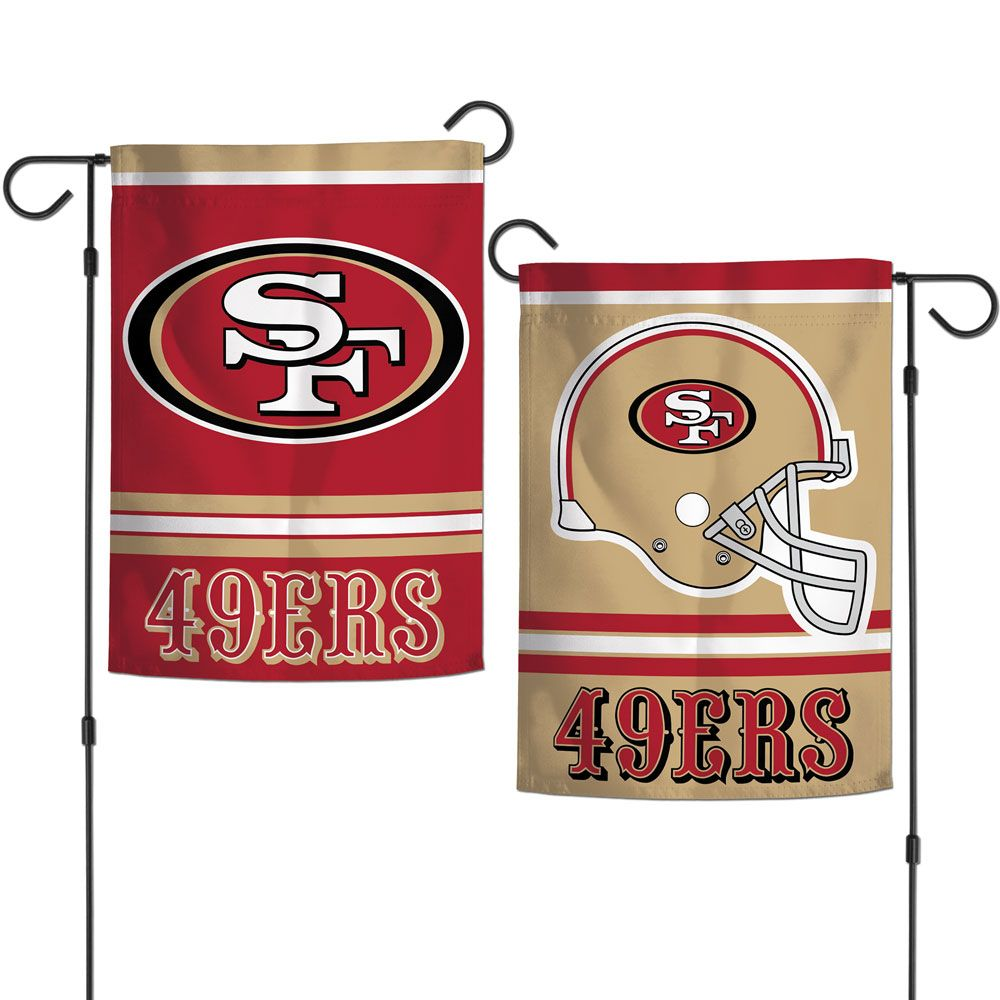 San Francisco Forty Niners 49ers Garden Flag