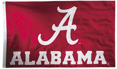Alabama Crimson Tide Flag - Sewn - Double Sided