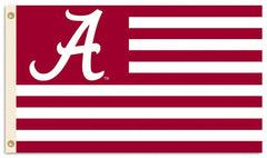Alabama Crimson Tide Nation Flag