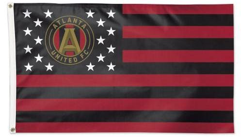 Atlanta United FC Nation Flag