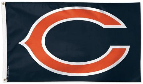 Chicago Bears Logo Flag