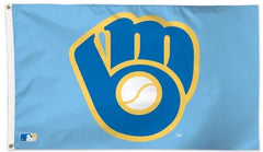 Milwaukee Brewers Vault Flag