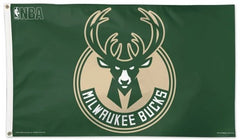 Officially Licensed 3'x5' Milwaukee Bucks Flag