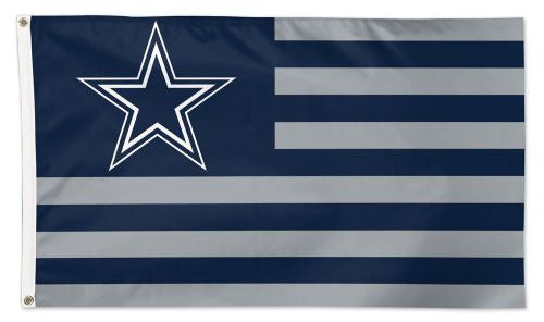 Dallas Cowboys Americana Flag