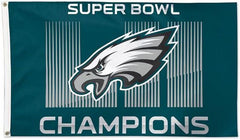 Philadelphia Eagles Super Bowl Champions Flag