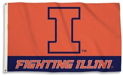 Illinois Fighting Illini Flag