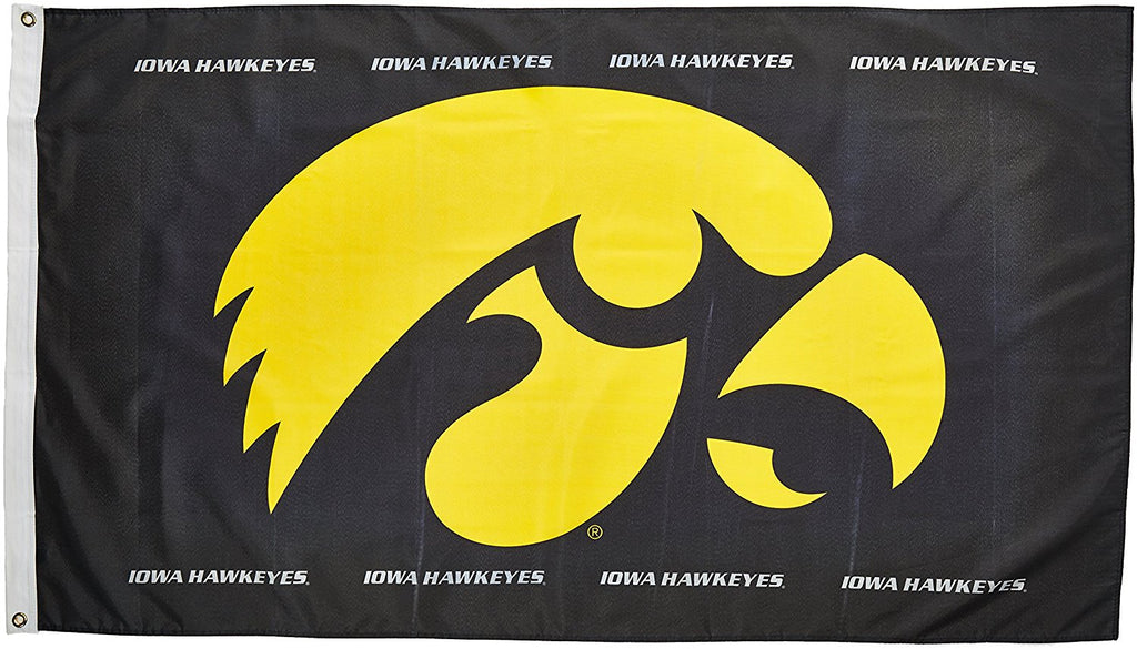 Iowa Hawkeyes Flag