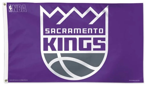 Officially Licensed 3'x5' Sacramento Kings Flag
