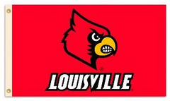 Louisville Cardinals Flag