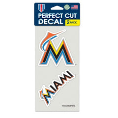 Miami Florida Marlins Decal