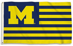 Michigan Wolverines Nation Flag
