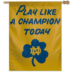 Notre Dame Play Like A Champion Today PLACT Banner