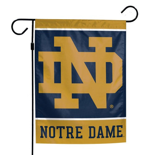 Notre Dame Fighting Irish Garden Flag