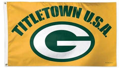 Green Bay Packers Titletown USA Flag