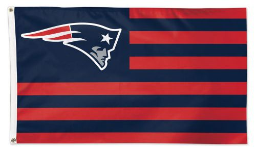 New England Patriots Americana Flag