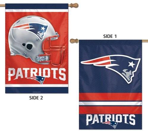 New England Patriots Banner - Double Sided