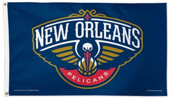 Officially Licensed 3'x5' New Orleans Pelicans Flag