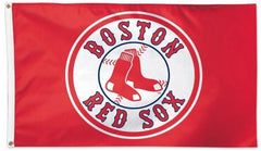 Boston Red Sox Logo Flag