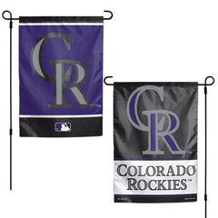 Colorado Rockies Garden Flag