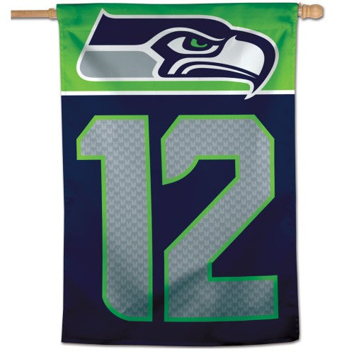 Seattle Seahawks 12th Man Banner