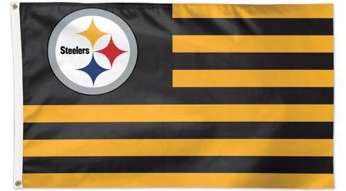 Pittsburgh Steelers Americana Flag