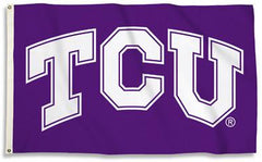 TCU Texas Christian University Horned Frogs Flag