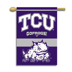 TCU Texas Christian University Horned Frogs Banner