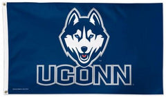 Connecticut Huskies UCONN Flag