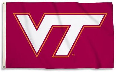 Virginia Tech Hokies Flag