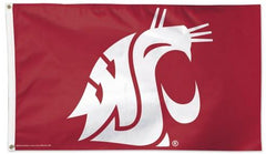 Washington State Cougars Logo Flag