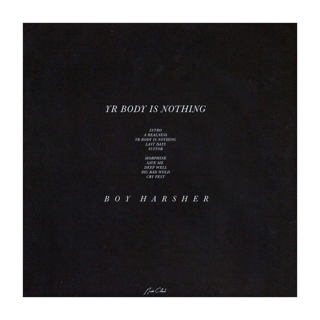 Boy Harsher ‎– Yr Body Is Nothing (Reissue)