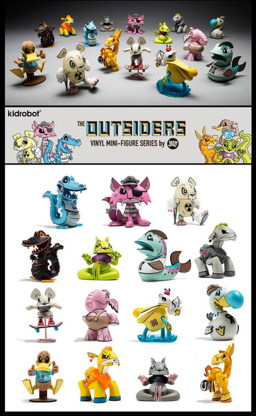 "THE OUTSIDERS 3"" Blind Box Mini Series By Joe Ledbetter"