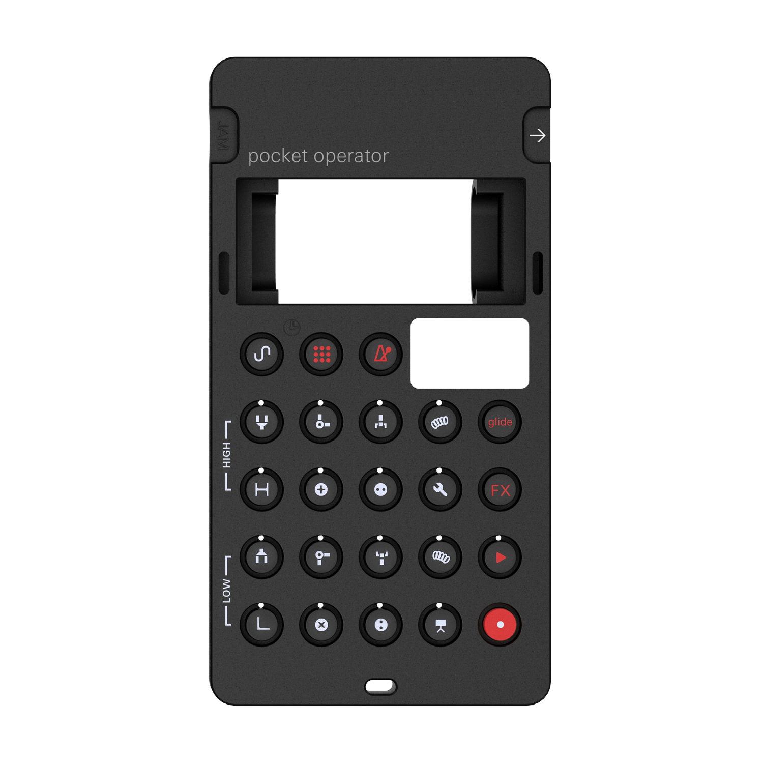 PO-28 Robot with Silicone Case