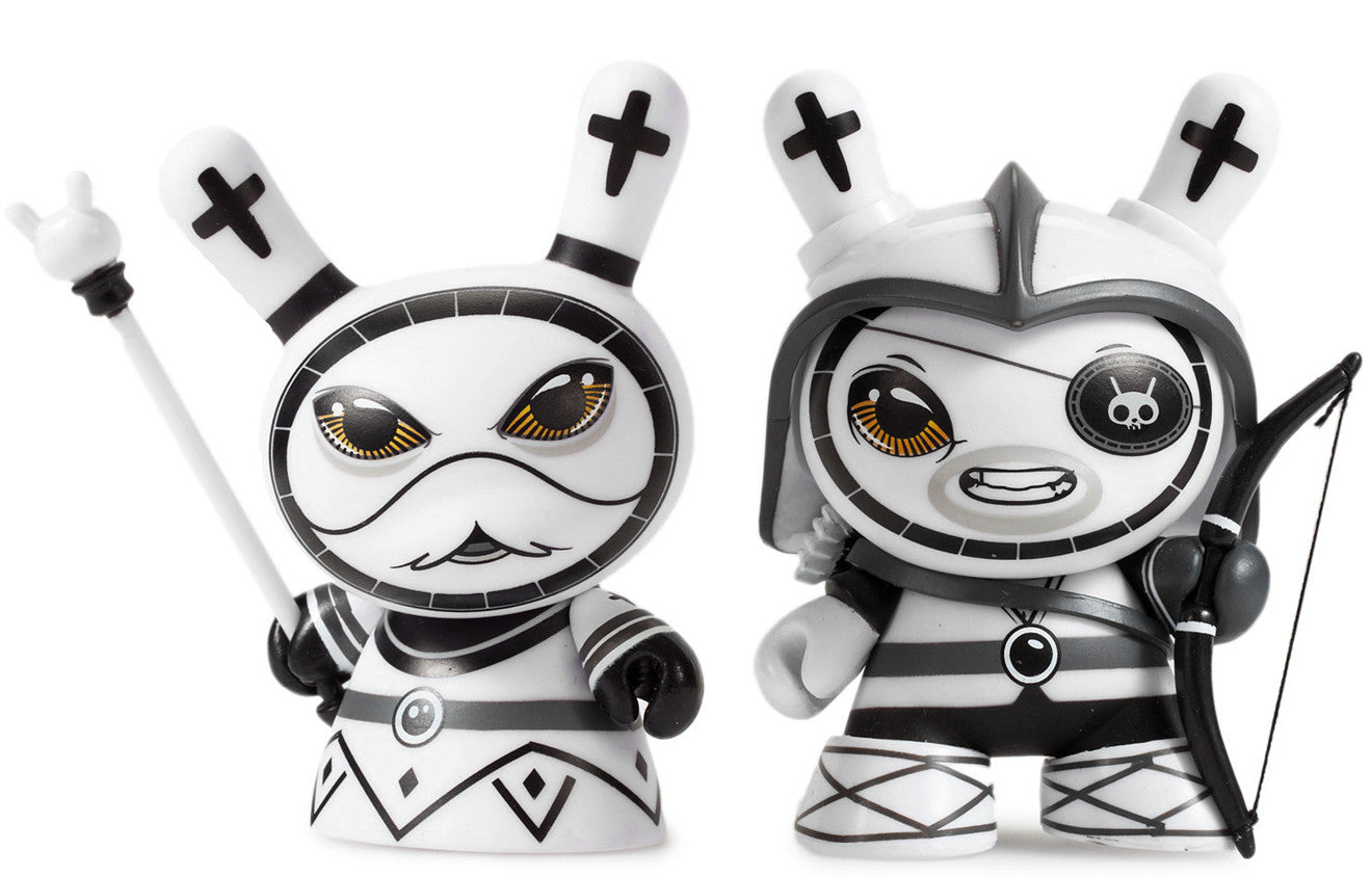 Otto Bjornik Shah Mat Dunny Chess Series - Full Set