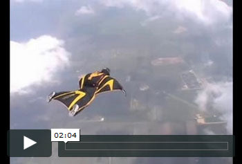 See Austin Wingsuit Testing Kangaroo Carry Over Texas