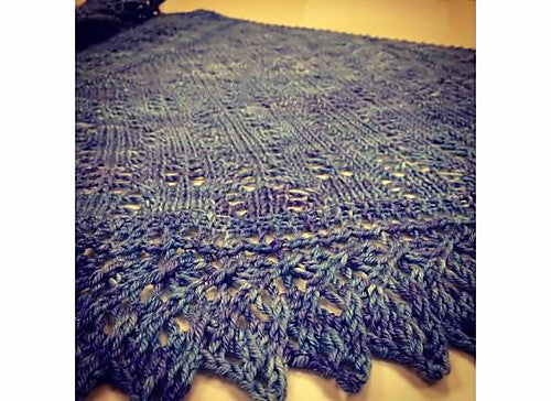 Silky Roads Shawl
