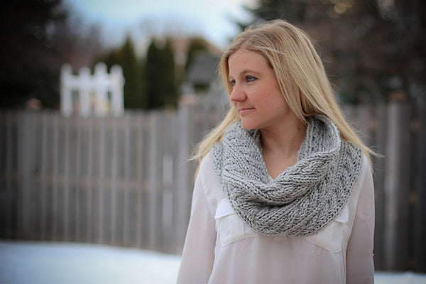 Chunky Uptown Cabled Cowl
