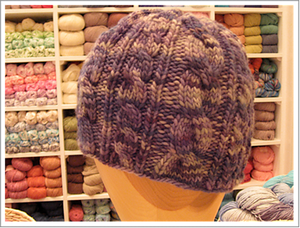 Double Trouble Cabled Hat