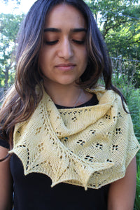 Eventude by Adrienne Ku yarn and pattern kit