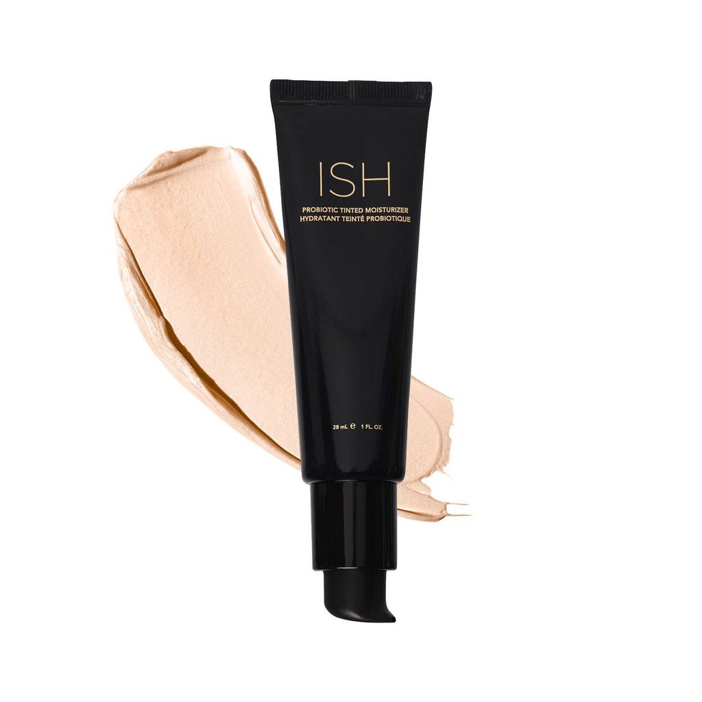 Cruelty free tinted moisturizer with probiotics