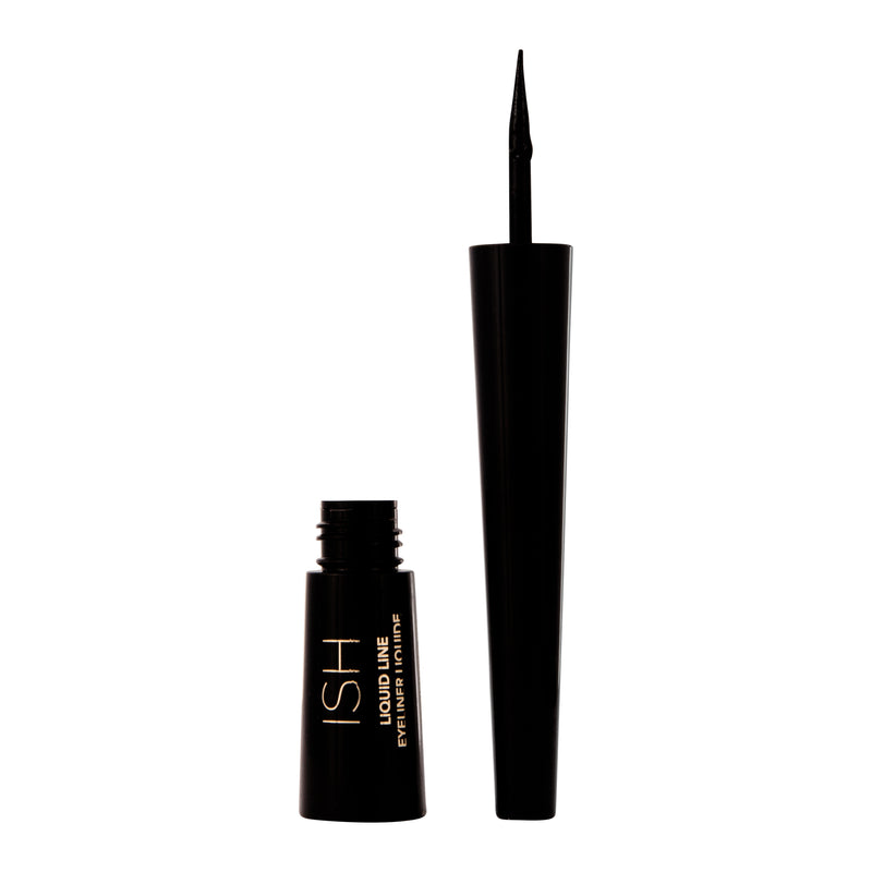Black liquid eyeliner pen.