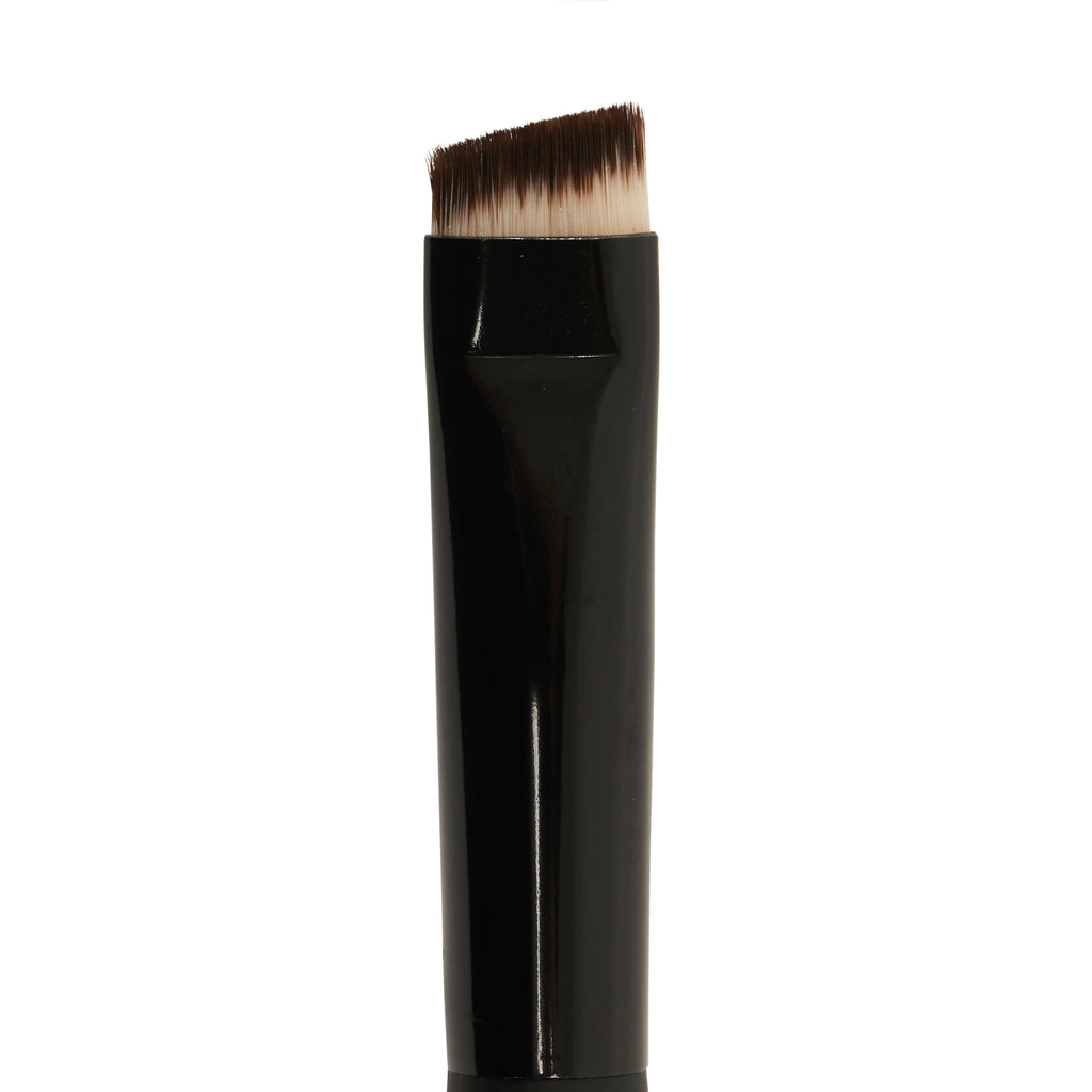 Angled Eye Brush With Synthetic Fibers